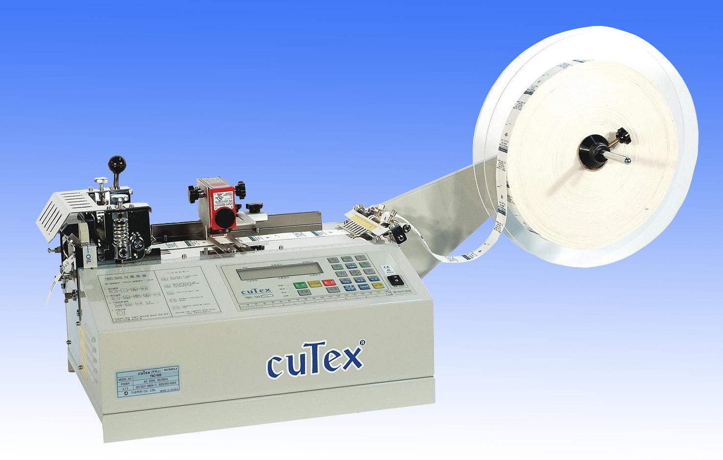 Máy cắt nhãn bằng nhiệt và Sensor