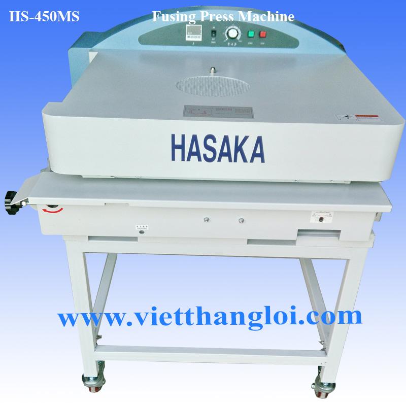 Máy ép keo khổ 450 HS-450MS